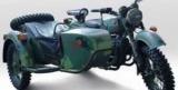 В Киеве представили новый военный мотоцикл