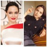 Анджелина Джоли сказала, эксперименты с косметикой в молодости: