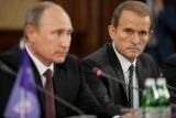 Кум Путина, украинофоб Медведчук, бьется в припадке из-за блокады на Донбассе, поскольку зарабатывает миллионы на добыче угля в