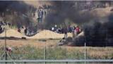 Число пострадавших в столкновениях в секторе газа более тысячи палестинцев