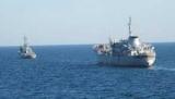 Корабли ВМС Украины в исключительной экономической зоне России