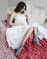 Стоцкая снялась в нежной фотосессии на последнем месяце беременности