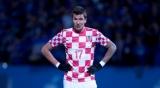 Футбол: Хорваты Брозович и Манджукич могут не сыграть против сборной Украины