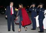 Melania Trump еще обижена на мужа и отказывается сфотографироваться с ним
