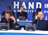 Звезды Голливуда провели конференцию для пострадавших от урагана